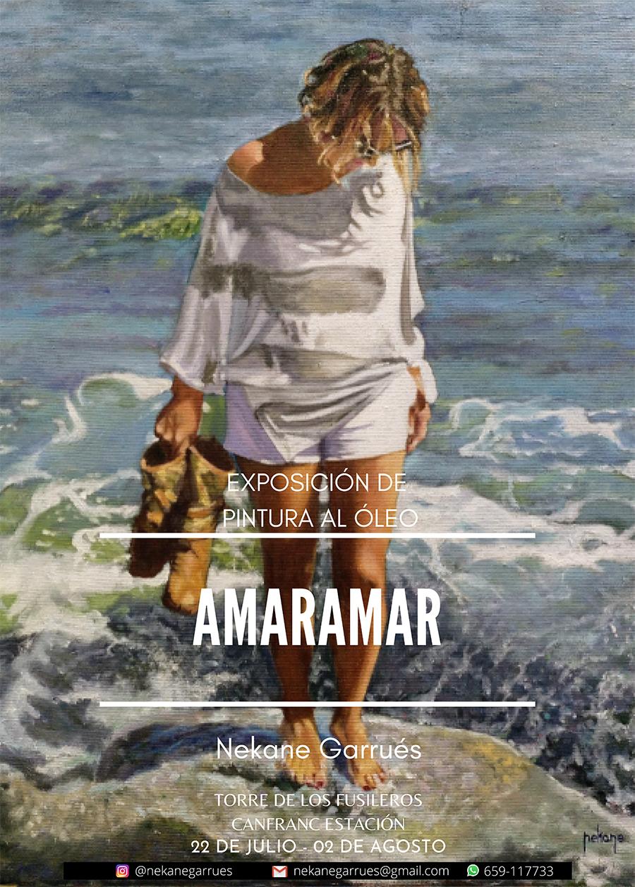 Exposición de pintura al óleo de Nekane Garrués