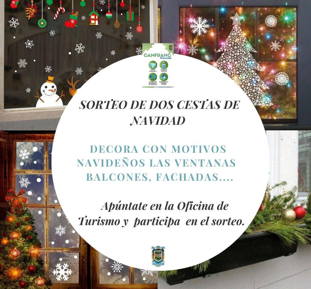 Concurso de decoración navideña de ventanas, balcones y fachadas de Canfranc
