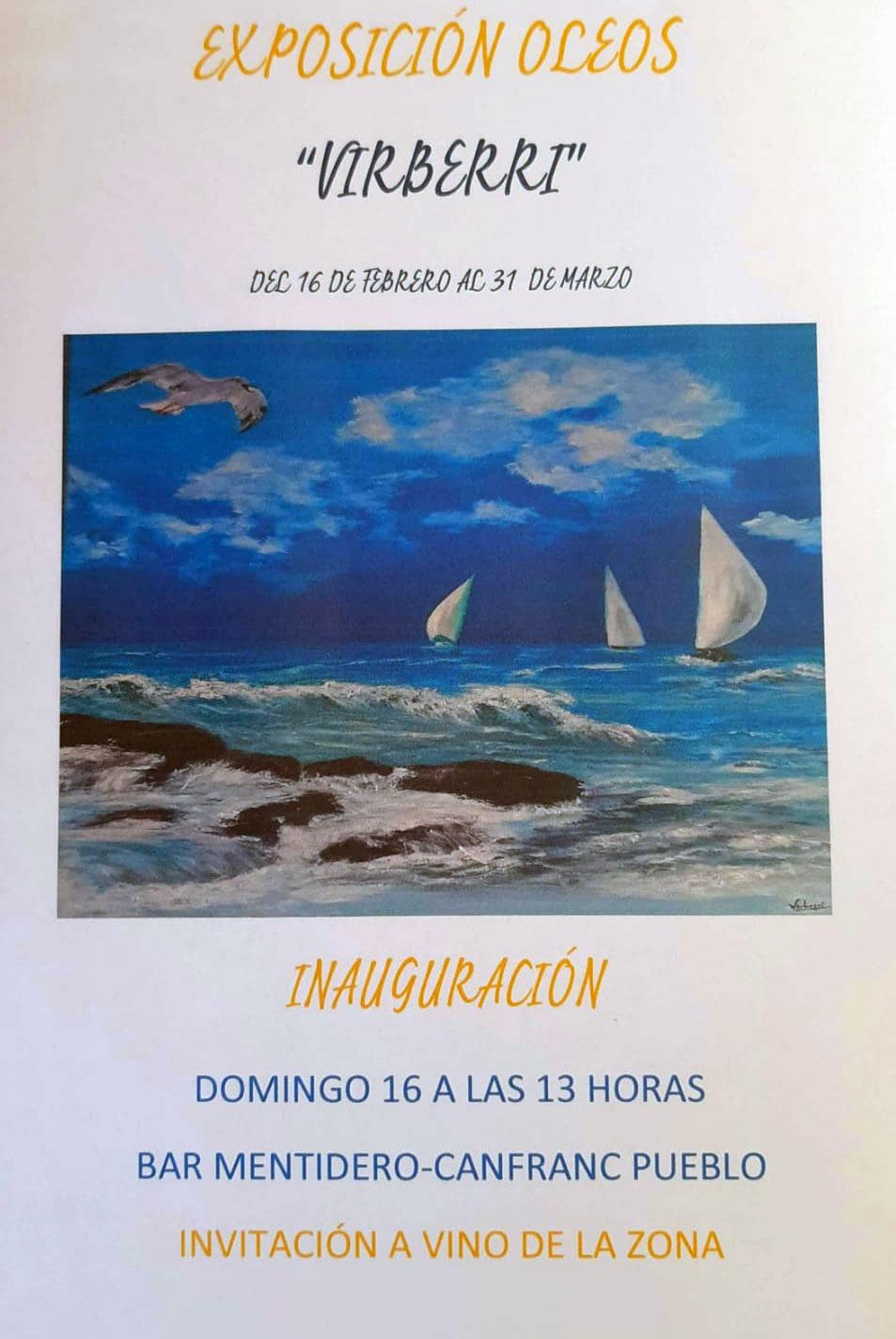 Exposición de pintura Bar El Mentidero