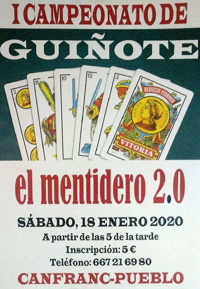 I Campeonato de Guiñote El Mentidero