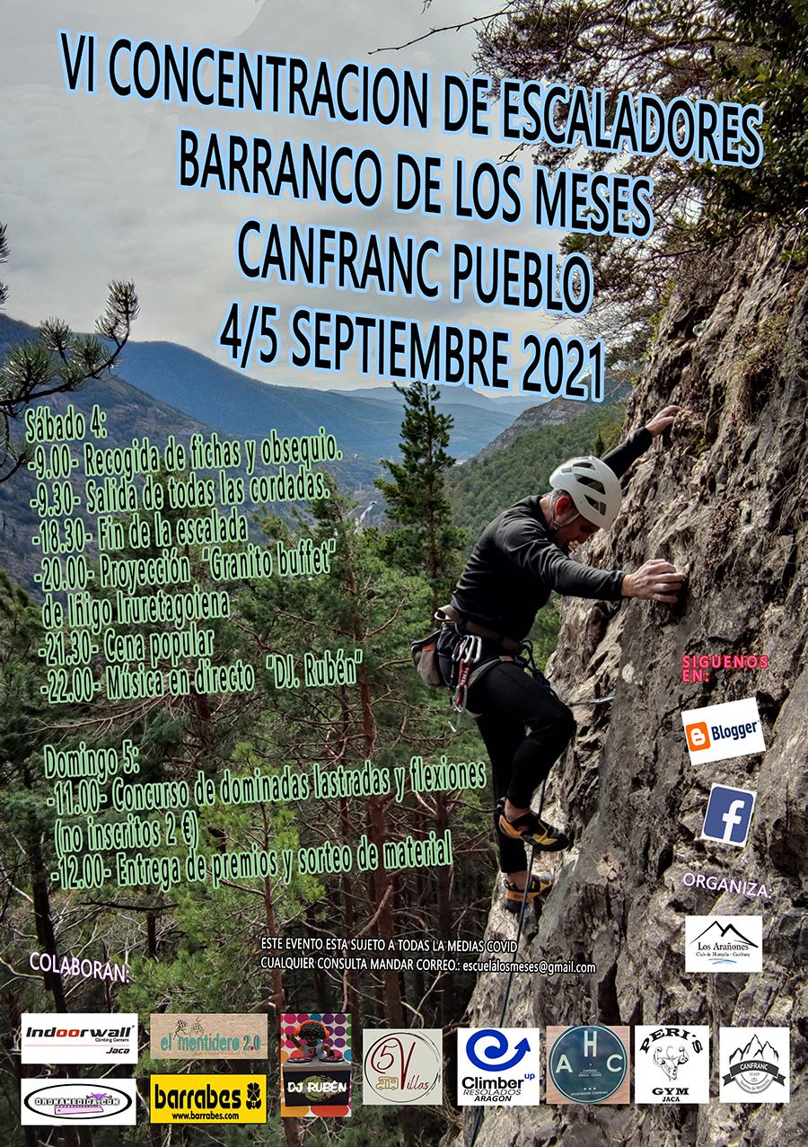 VI Encuentro de Escaladores Barranco de los Meses