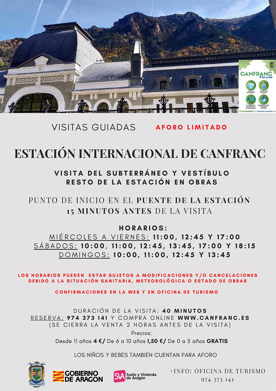 Visita Guiada a la Estación Internacional de Canfranc