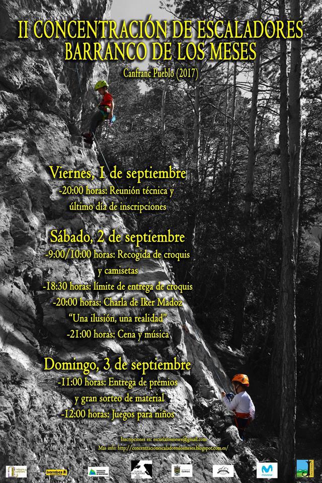 Días 2 y 3: II Encuentro de Escaladores en Canfranc Pueblo