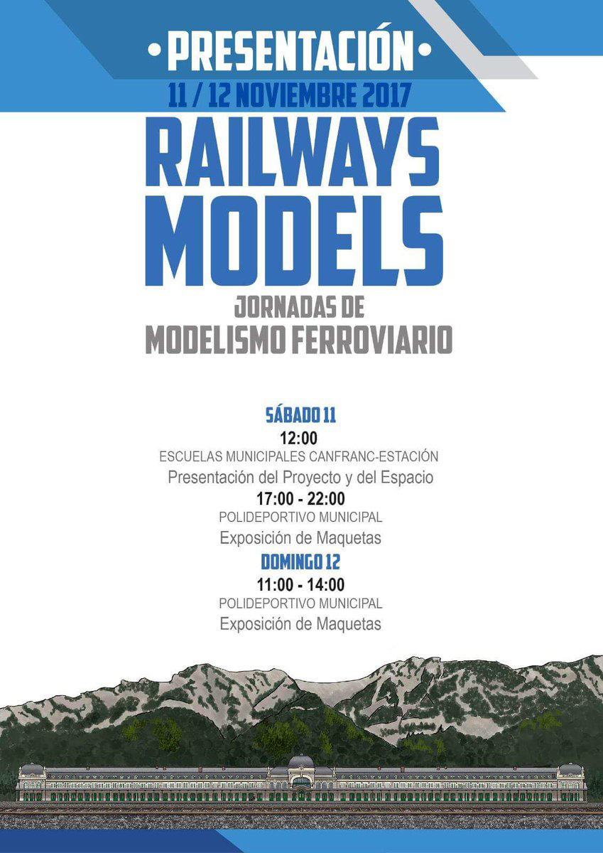 Railways Models. Jornadas de Modelismo Ferroviario