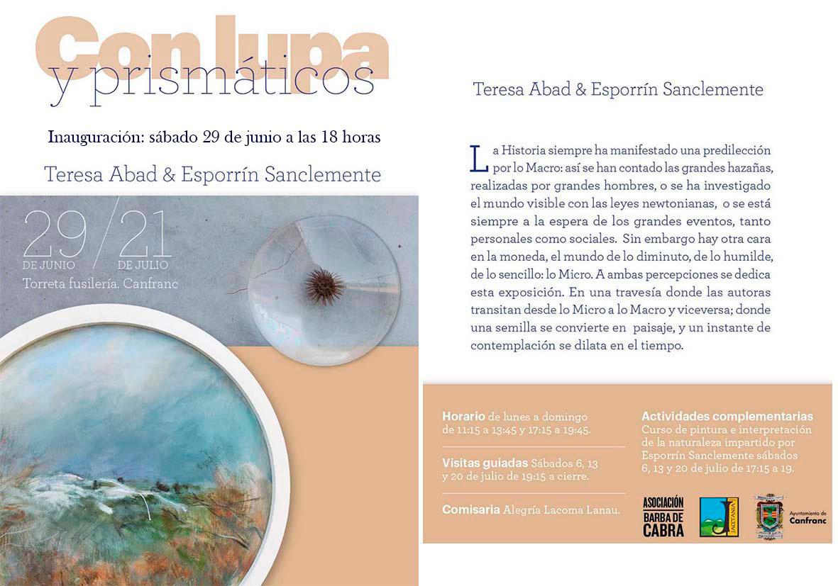 """Exposición """"Con lupa y prismáticos"""""""