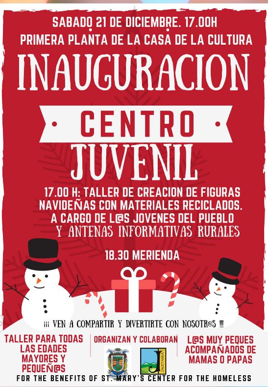 Inauguración del Centro Juvenil
