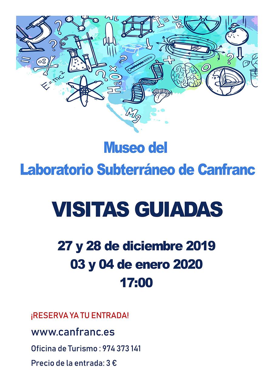Visitas guiadas al Laboratorio Subterráneo de Canfranc