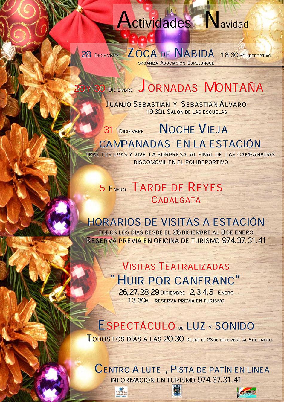Actividades en Canfranc- Navidad 2016