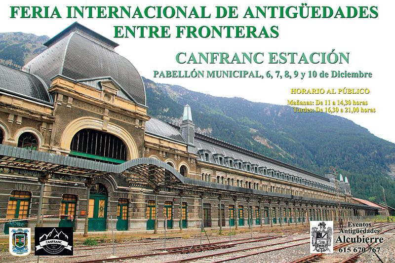 Feria internacional de antigüedades entre fronteras
