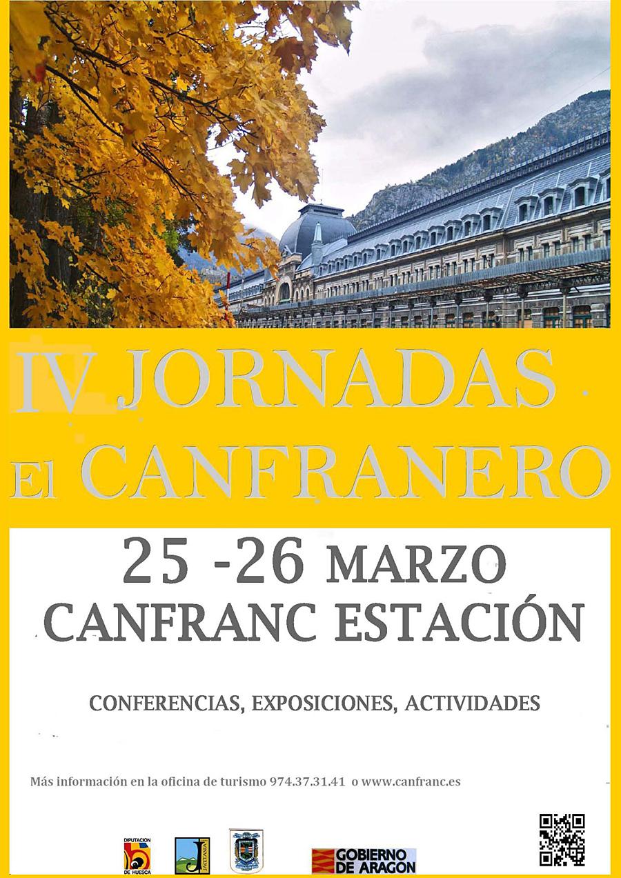 """PROGRAMACIÓN  IV Jornadas """"El Canfranero"""""""
